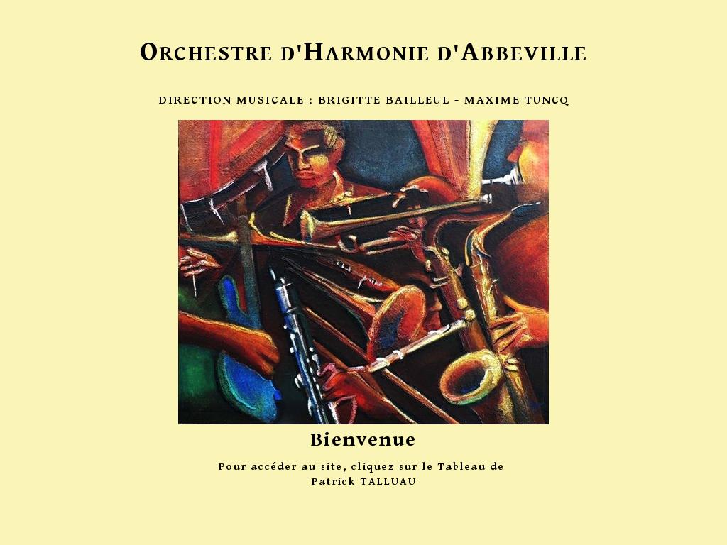 Cliquer pour entrer sur le site de l'orchestre